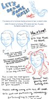 Let's draw some hair by MistyTang