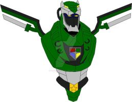 Voltron Force Green Center by THUNDERWOLFX13
