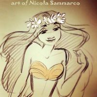 Moana - Another doodle by nicolasammarco