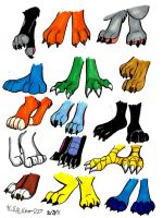 Feet Sheet by faster-by-choice