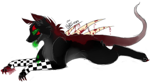 droolin green. by xBadgerclaw
