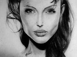 Angelina Jolie by Jasminela