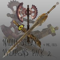 Nadija Stock 64 Weapons Pack 2 by Nadija-stock