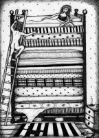 The Princess and the Pea by luciediamonds