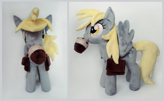 14.5 Inch Talking Derpy with Muffin by PlushActionToys