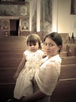 At a baptismal by KMourzenko