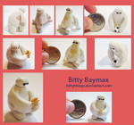 Bitty Baymax - SOLD OUT by Bittythings