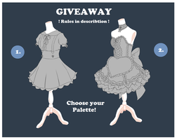 [Giveaway - closed] Outfit Adopts by CottonPuffAdopties