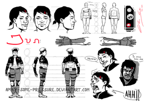 character sheet: Jun by Apply-Some-Pressure