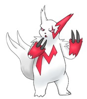 Zangoose by AerisArturio