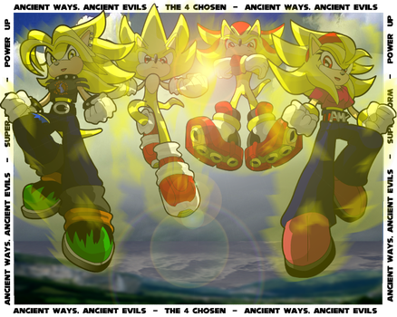 Super forms, powered up by Gaminefans