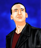 The Ninth Doctor by TheWatcherOnTheWall
