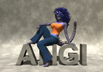 Poser - Angilass by neveauxor