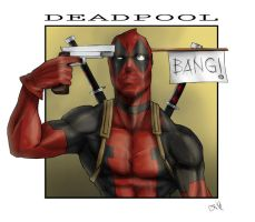 Deadpool - Bang! by GiorgioPennisi