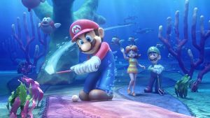 Mario Golf World Tour by vgwallpapers