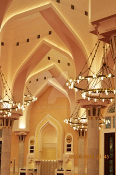 State Mosque of Qatar - Interior by alimjshafi