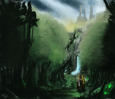 Sacred Forest by PeterPrime