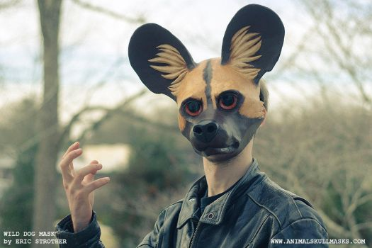 African Wild Dog Mask (Persona No. III) by Everruler