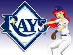 Tampa Bay Rays Ariel by Anime-Ray