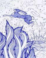 Hares by Quiriter