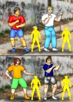 Shapeshifter Force: Part 1 by kusanagiartist