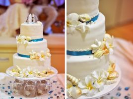wedding cake by hennatea