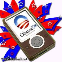 Obama Zune by TeknoSushi
