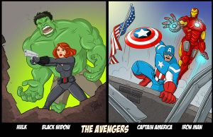 Avengers Assembling. by scootah91