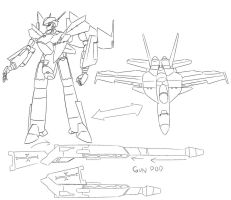 VF-18 Variable Fighter by PAK-FAace1234