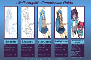 .:New and Updated Commission Guide 2013:.OPEN by SomaShiokaze