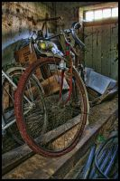 Old Bike by Kelyen