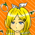 Rinny And Her Oranges. by taliatheotaku