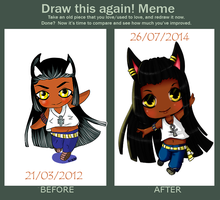 Draw Again meme by Hishousophy
