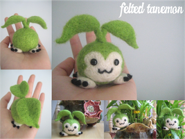 Felted Tanemon by xxNostalgic