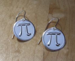 Pi Sterling Earrings by nicholasandfelice