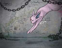 Espeon by Sophalone