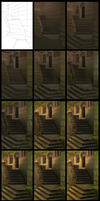 Stairs WIP Steps by daPatches