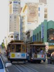 San Francisco Trolley CableCar by Partywave