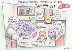 DA Stress Balls In Real Life by ViPblASt