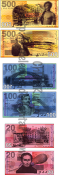 Australian Money by TreLeCoco