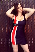 Mass Effect Dress 2 by Stephanie-van-Rijn