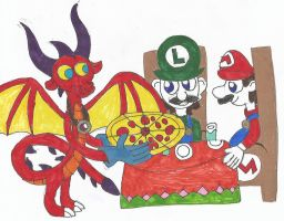 How Did Mario And Luigi Meet Red ? by nyro1