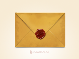old mail icon - free psd by nelutuinfo