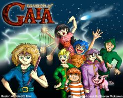 Illusion of Gaia by spaceodd