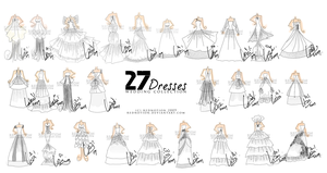 27 Dresses Complete Collection by rednotion