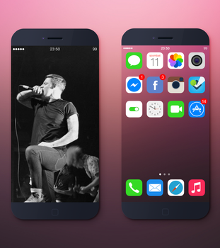 minimal iOS 7 by flass