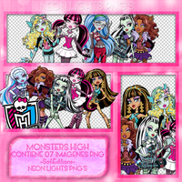 Monster High PNG - NeonLightsPNG'S by SoffMalik