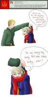 Question 48 : Germany Is Bully Once More~! by Ask-Soviet-Russia