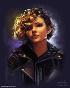 Camren Bicondova - Digital painting by vurdeM