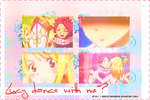 Lucy And Natsu Dance by Perfectionxanime